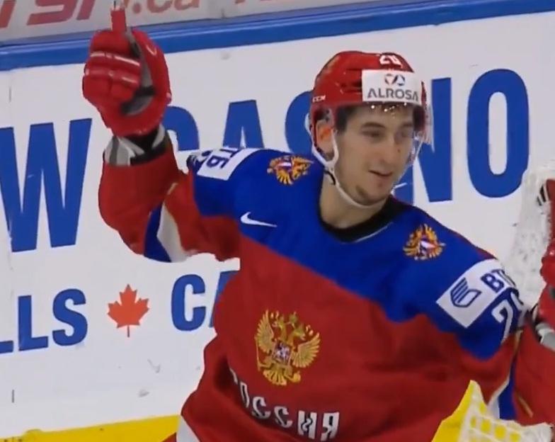 Сборная РФ одержала победу над Швейцарией намолодежном чемпионате мира похоккею