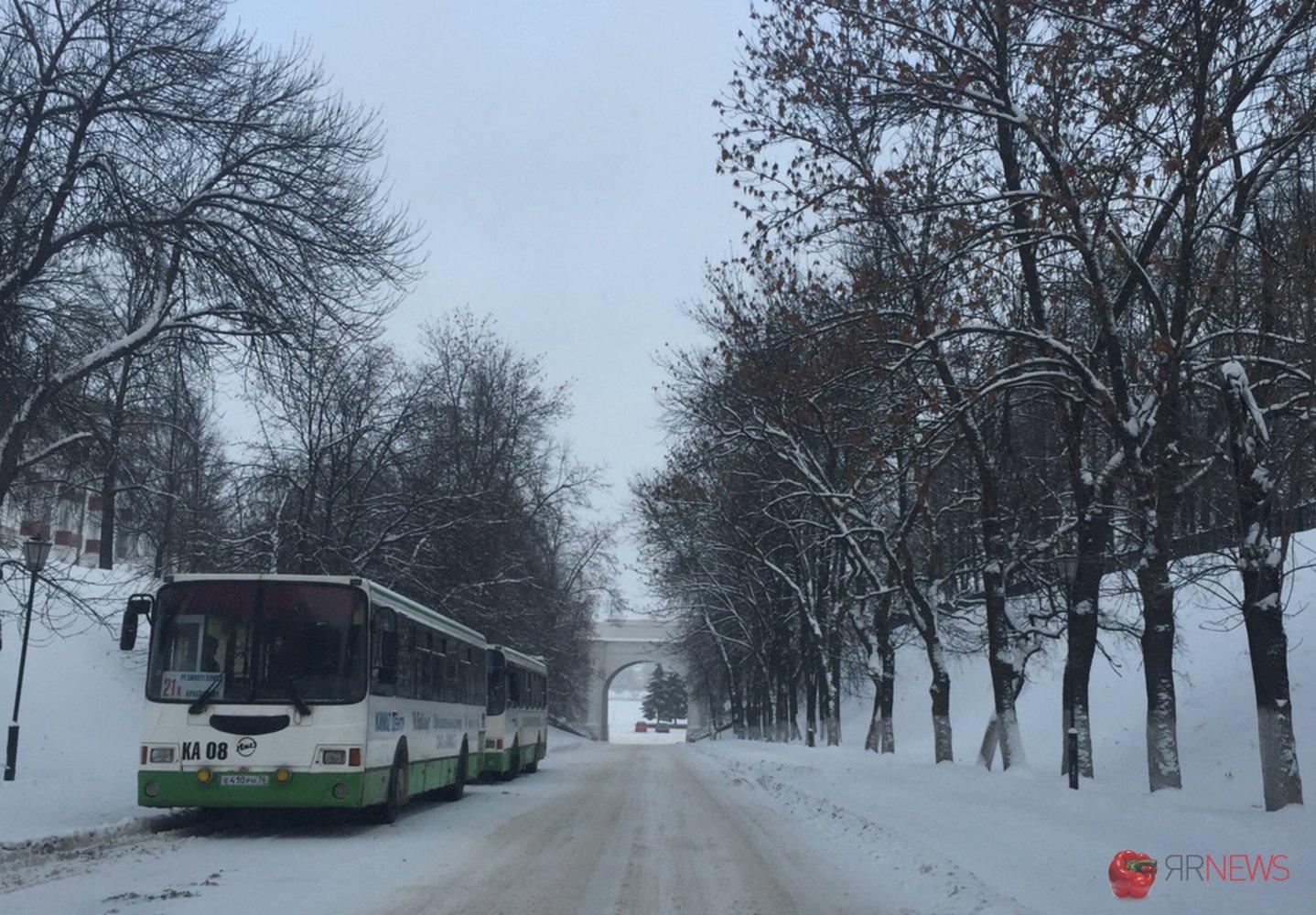 НаРождество вЯрославле запускают дополнительные автобусные маршруты