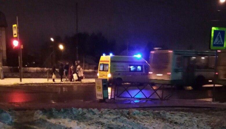 22-летний шофёр  «Мазда 6» сбил женщину-пешехода вЯрославле