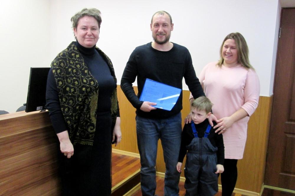 Восемь семей получили землю вРыбинском районе