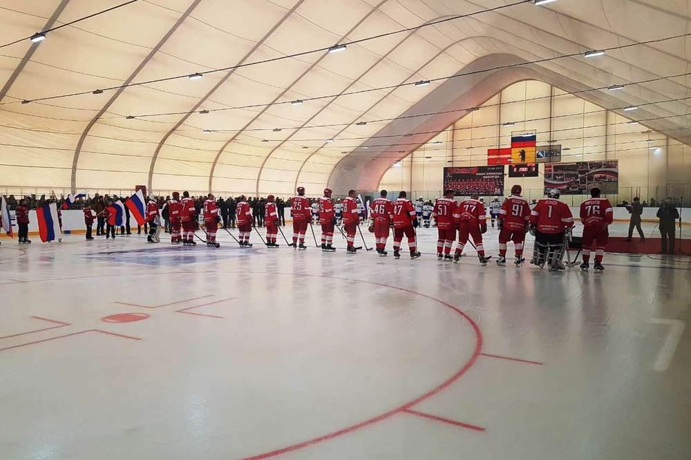 Звезды отечественного хоккея выйдут налед нового спорткомплекса вНекрасовском