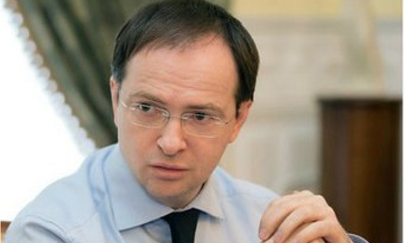 Министр культуры Владимир Мединский прибыл вЯрославль