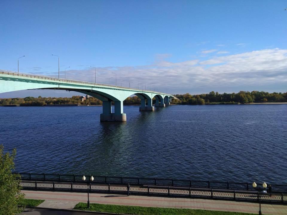 Фото мостов ярославль