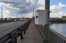 В Ярославле на Октябрьском мосту установили ловушку для велосипедистов